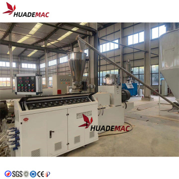 Machine de ligne de production de PVC en plastique