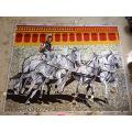 Mosaïque artistique, Mosaic Mural Art Mosaic Picture (HMP806)
