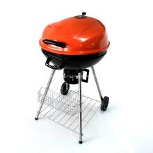 Угольный гриль-барбекю 22,5 дюйма, оранжевый