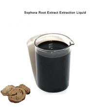 Líquido de extração de extrato de raiz de Sophora de pesticidas biológicos