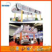 Shanghai Messestand tragbar, Aluminium-Messestand, Ausstellung Display