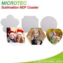 Sublimation Blank MDF Cork Coaster