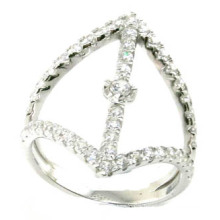 2015 Newest Fashion & Factory Price 925 S Silver Jewelry Ring (R10428)