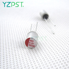 Polymer aluminum electrolytic 2.5 capacitors 390uf 6.3v