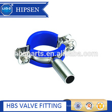Pipe fittings Sanitary stainless steel pipe support tri-clamp holder