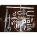 ligne électrique électrique raccord isolant raccord galvanisé à chaud accessoires de câble pince puissance pôle ligne matériel raccord