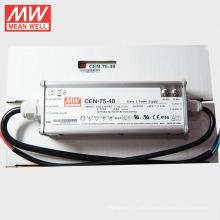MEANWELL 75W 48V LED Treiber 1500mA mit PFC C.C + Lebenslauf UL CE TÜV CEN-75-48