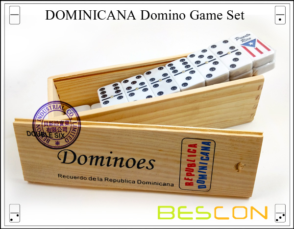 DOMINICANA Domino Game Set-2