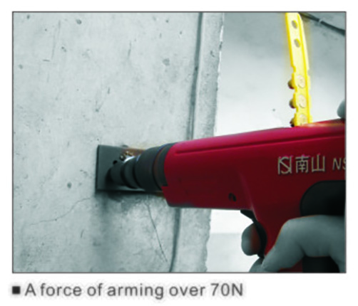 Ns301 Semi Automatic Powder Actuated Fastening Tool 4