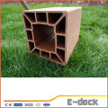 Hot sale recycled wood plastic composite cheap fence posts for sale