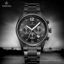 Chronograph Luxus Stahlmann Uhren Analog Quarz Armbanduhr 72182