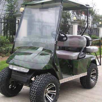 Gas Power 4 sittplatser off road Golfvagnar