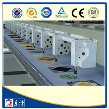Lejia 12 Cabeças Chanstitch Chenille Bordado Machine