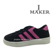 Manufacture Casual Canvas Shoes for Children (JM2077-B)