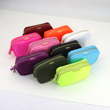 Private Label Cute Packaging Case Brush Toiletry Bag Custom Travel Cosmetic Nylon Pouch Makeup Bags