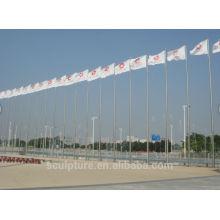 Stainless steel flagpole,flag