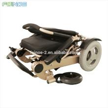 mais recente produto aprovado cadeira de rodas elétrica dobrável portátil