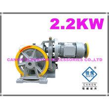 250KG 2.2 kW máquina do elevador monta-cargas