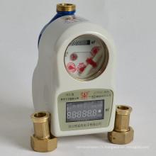 Mètre d'eau Drinable intelligent de carte d'IC avec le logiciel de facturation
