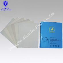 "9""*11"" P60 white coated abrasive sanding paper for wood"