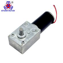 Motor del engranaje de gusano 12v 24v dc para silla de ruedas