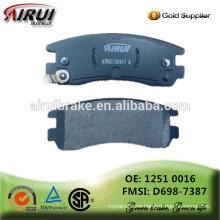 Ceramic brake pads, NOA ,disc brake pads, (OE: 1802 4962/ FMSI: D698-7387)