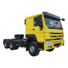 SINOTRUCK HOWO 420 hp tractor truck prime mover euro 2 brand new having agent in Tanzania