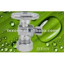 Brass Electroplating Chromium Mini brass right angle ball valve