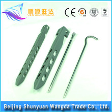 High Quality Sandblasting Titanium Tent Pegs for Tents Camping Outdoor