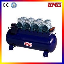 Dental Silent Air Compressor Tanque de acero inoxidable
