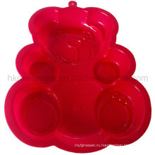 Форма силиконового торта с медведем (RS39)