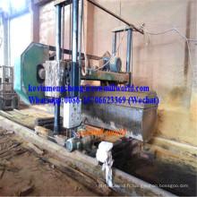 Scie à ruban horizontale de 70 po de scie à ruban Mj1800 pour bois dur en Afrique