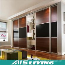 Armario de puerta de deslizamiento Juego de armario de madera (AIS-W002)