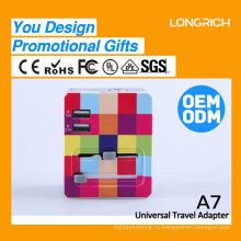 2017 OEM-дизайн смарт-штекер с розеткой USB