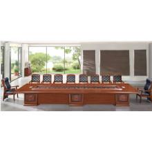 Table de réunion de luxe en bois (FOH-BT7B60)