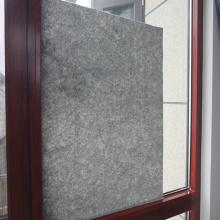 Retrait temporaire du film de protection de la fenêtre en verre extérieur