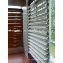 aluminum louver profile