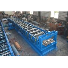 Máquina formadora de rollos de cubiertas de piso de metal de bobina de acero de control PLC