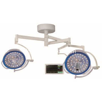 putaran lampu operasi double head shadowless