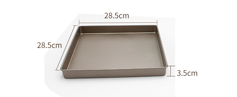 11 inch carbon steel square cake pan (28)