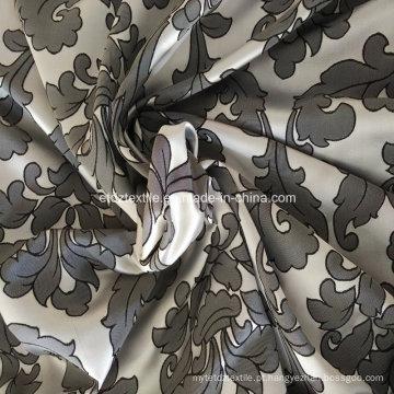Tecido de cortina de prata de alta densidade de urdidura