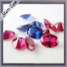 Variou Shapes and Colours Synthetic Corundum Gemstone
