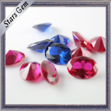 Variou Shapes and Colors Synthetic Corundum Gemstone