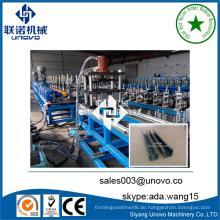Metall C unistrut Kanal Rollenformmaschine in China hergestellt