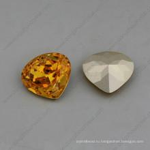 Сердце Фантазийными Бриллиантами Бусины Камнями