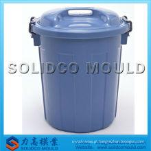 molde plástico da cubeta de caixote de lixo