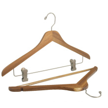 High quality vintage Acacia wood hanger