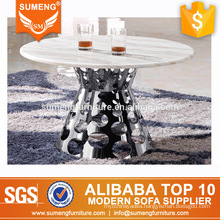 2017 luxury round marble top center coffee tables