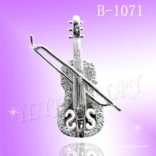 Pendentif Violon en Argent Sterling 925 (B-1071)