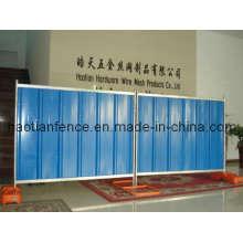 Vorübergehende Stahl-Horten-Panel, Solid Hoarding Zaun Panel